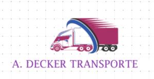 A. Decker Transporte Logo